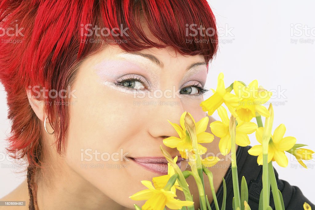 Spring portrait royalty-free stock photo