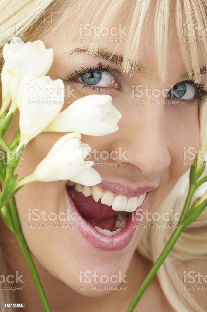 Spring portrait royalty-free stock photo