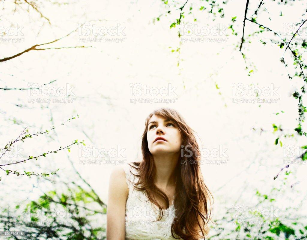 Spring portraits royalty-free stock photo
