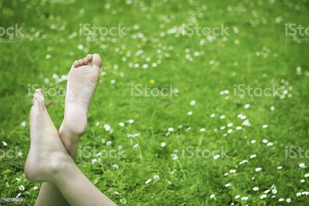 Spring relax royalty-free stock photo