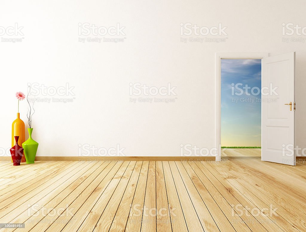 spring room stock photo