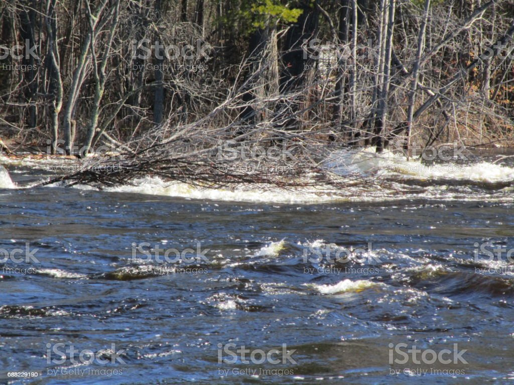 Spring Runoff stock photo