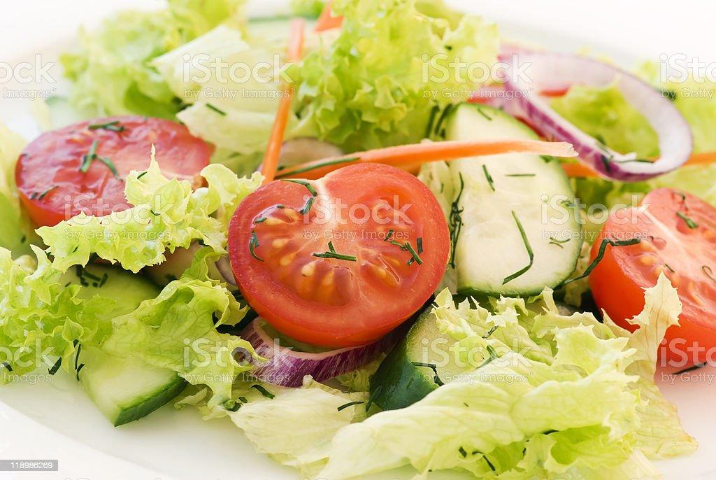 Spring Salad stock photo
