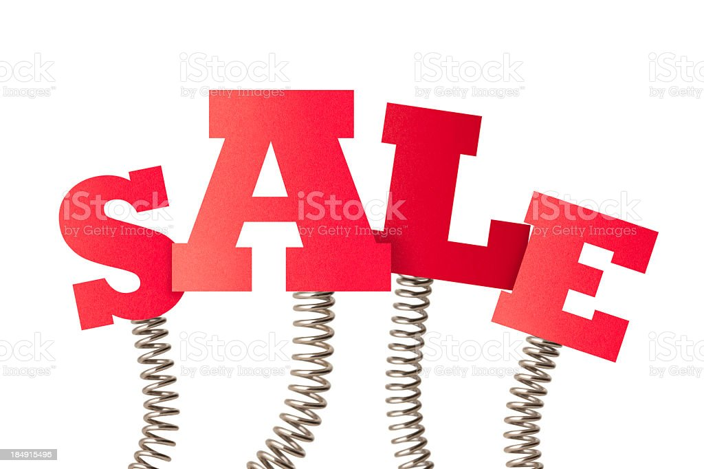 Spring Sale royalty-free stock photo