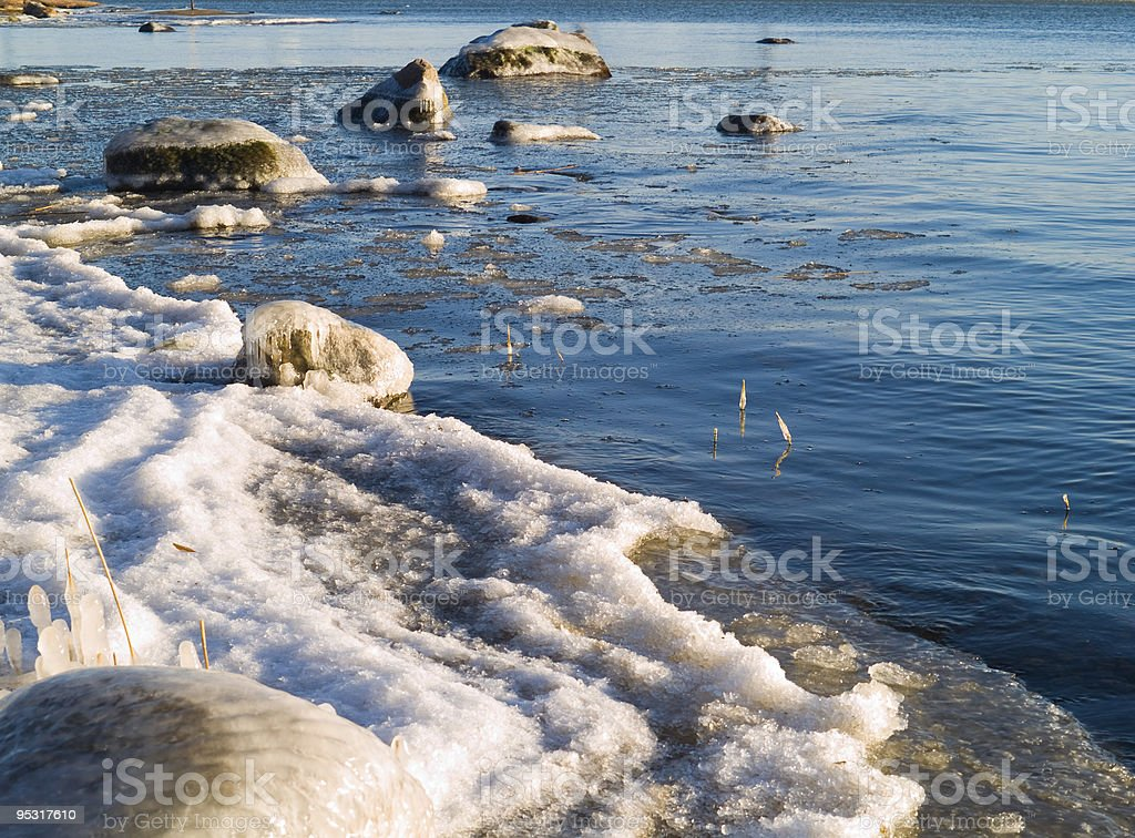 Spring Sea stock photo