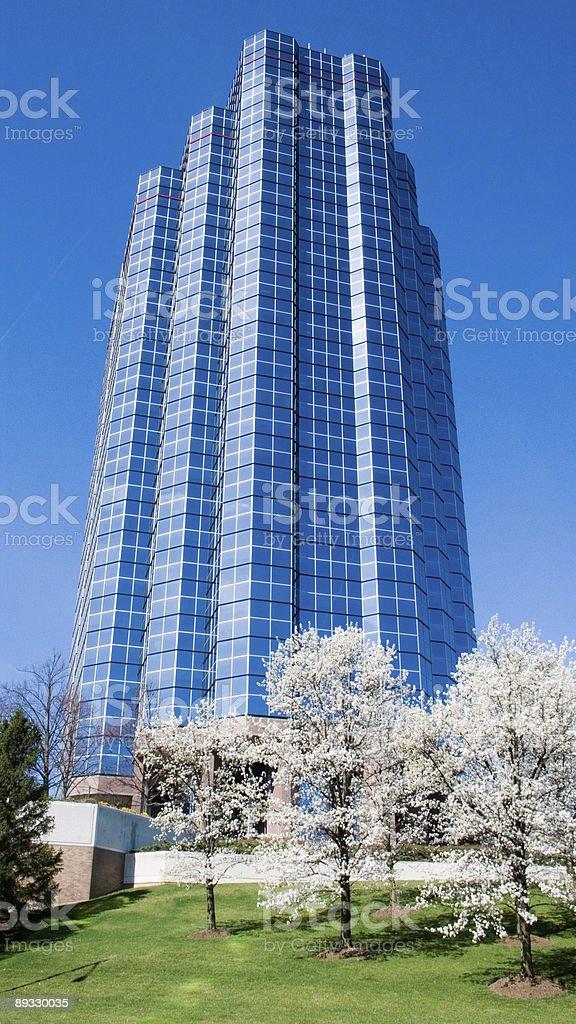 Spring Skyscaper stock photo