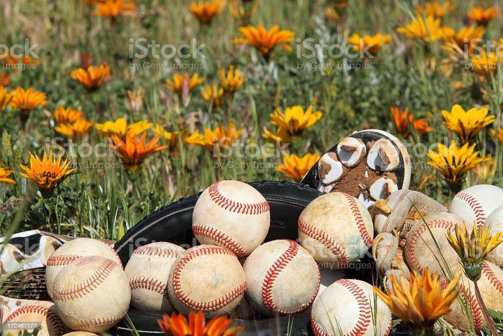 Spring sports stock photo