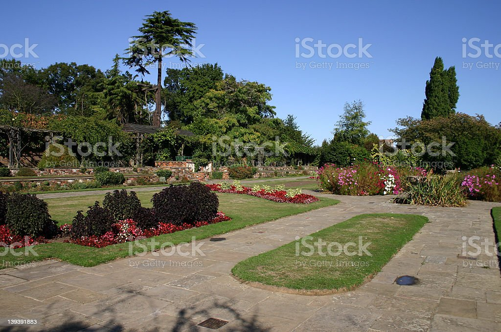 Spring Time Park royalty-free stock photo