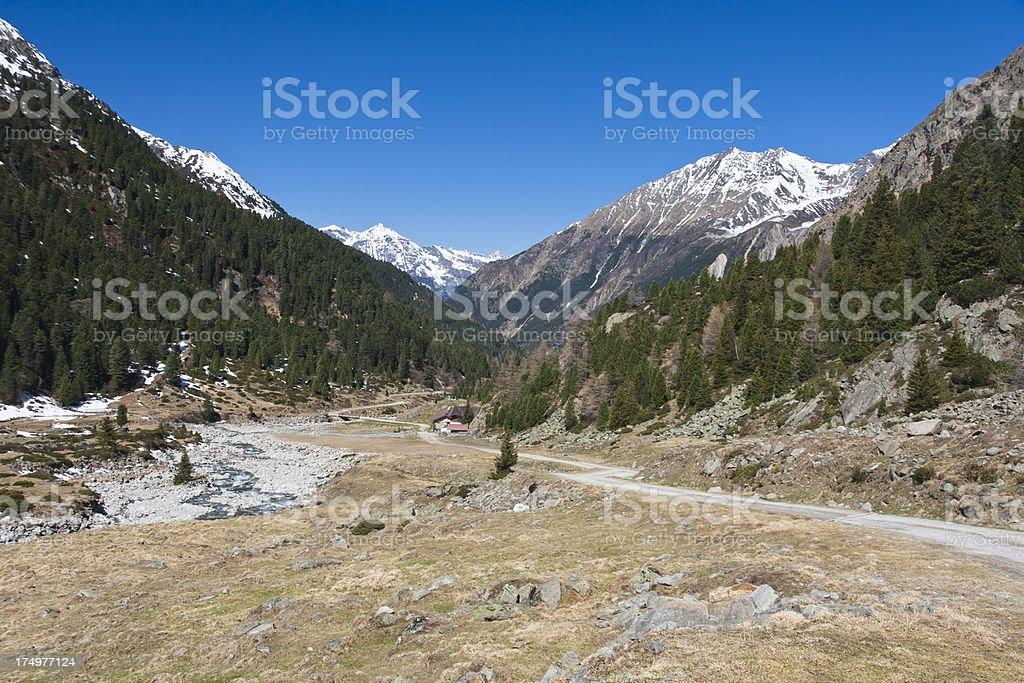 Spring Valley, Austria stock photo