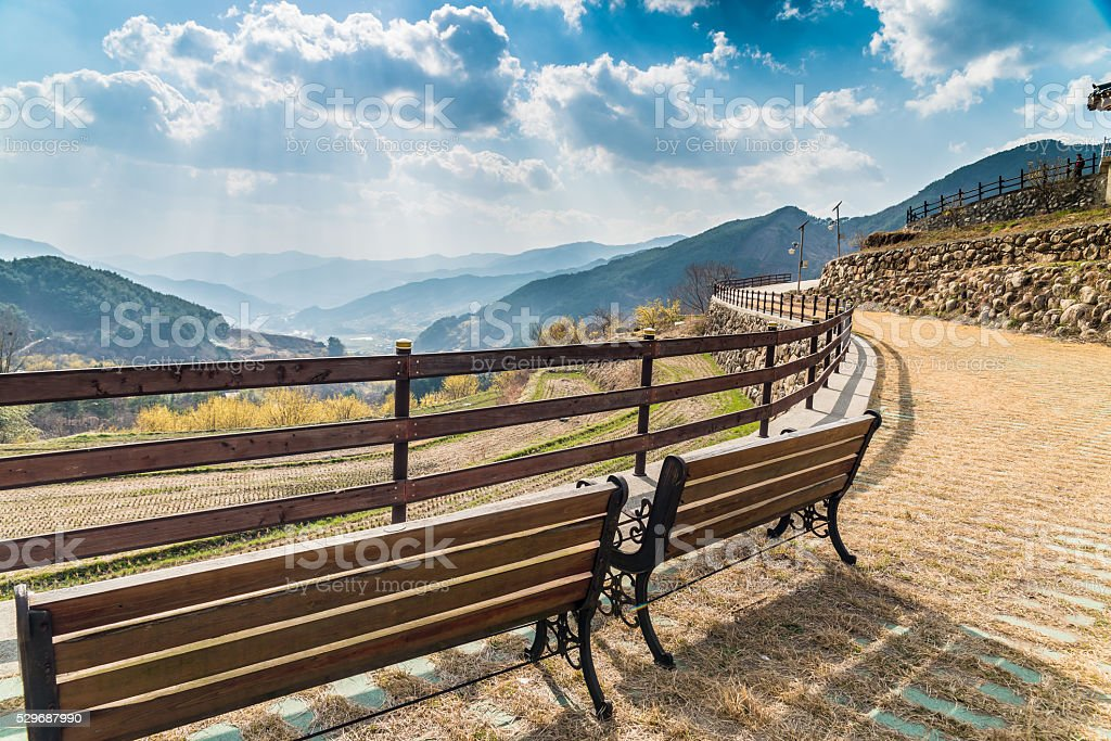 Scena Spring Valley zbiór zdjęć royalty-free