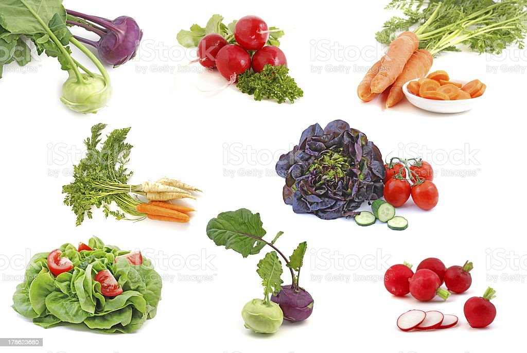 Spring vegetable royalty-free stock photo