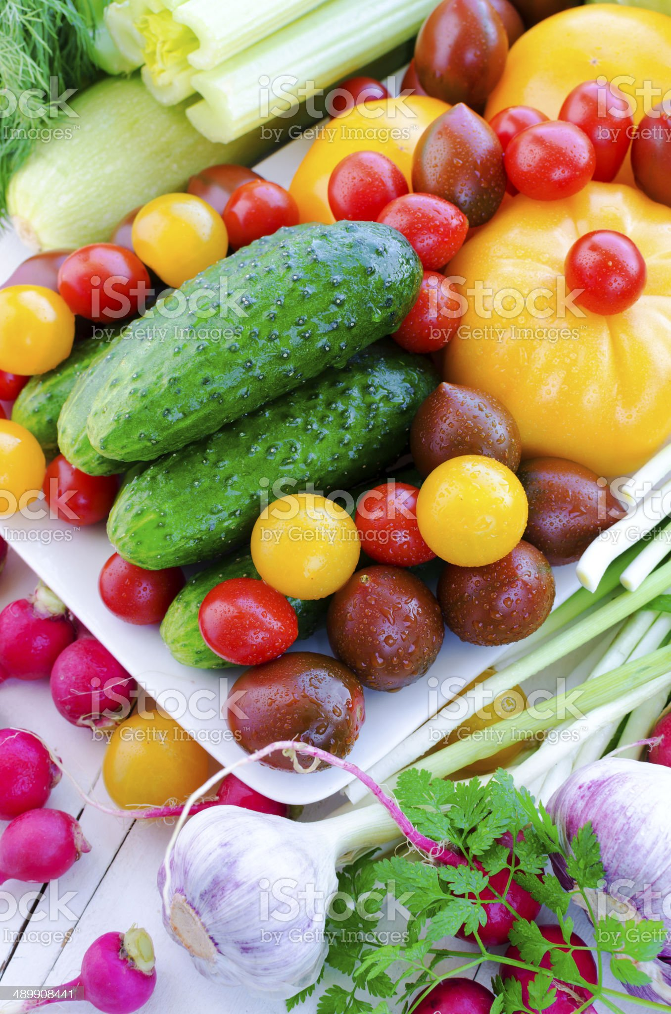 Spring vegetables royalty-free stock photo