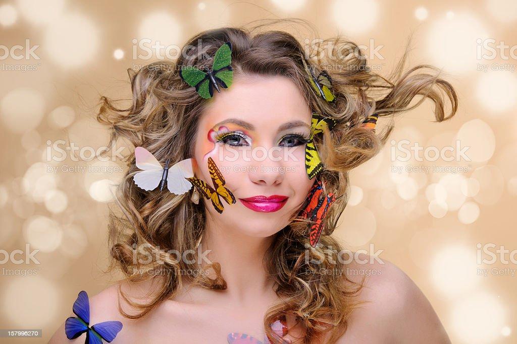 spring woman royalty-free stock photo