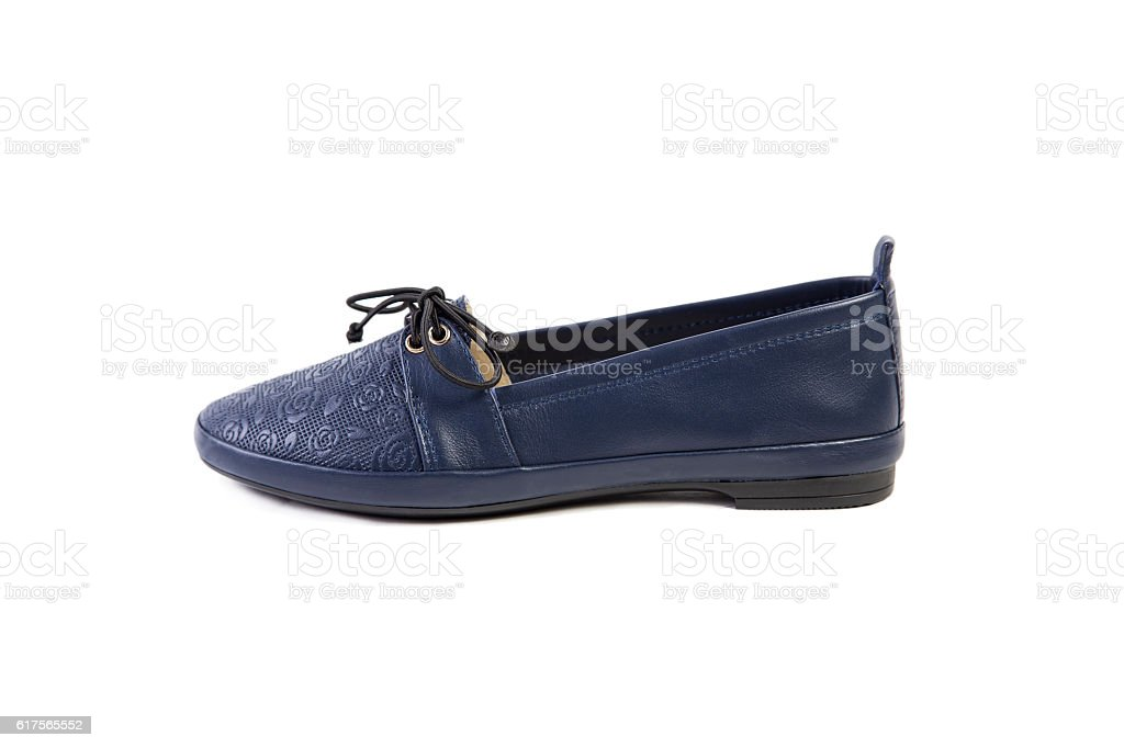 spring women's shoes, online store stock photo
