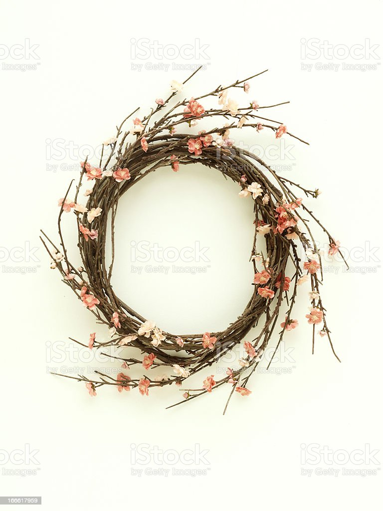 Spring Wreath royalty-free stock photo
