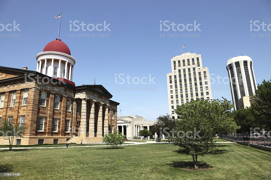 Springfield, Illinios stock photo