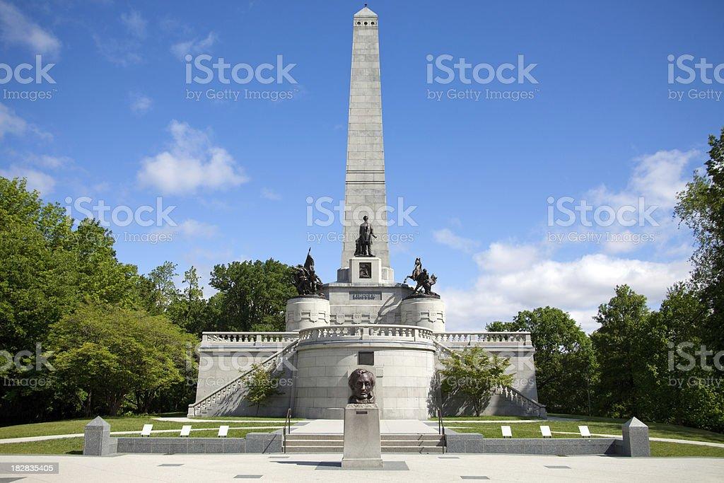 Springfield Illinois - Abraham Lincoln Tomb stock photo