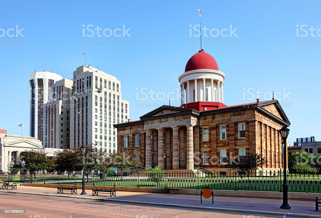 Springfield, Illinois stock photo