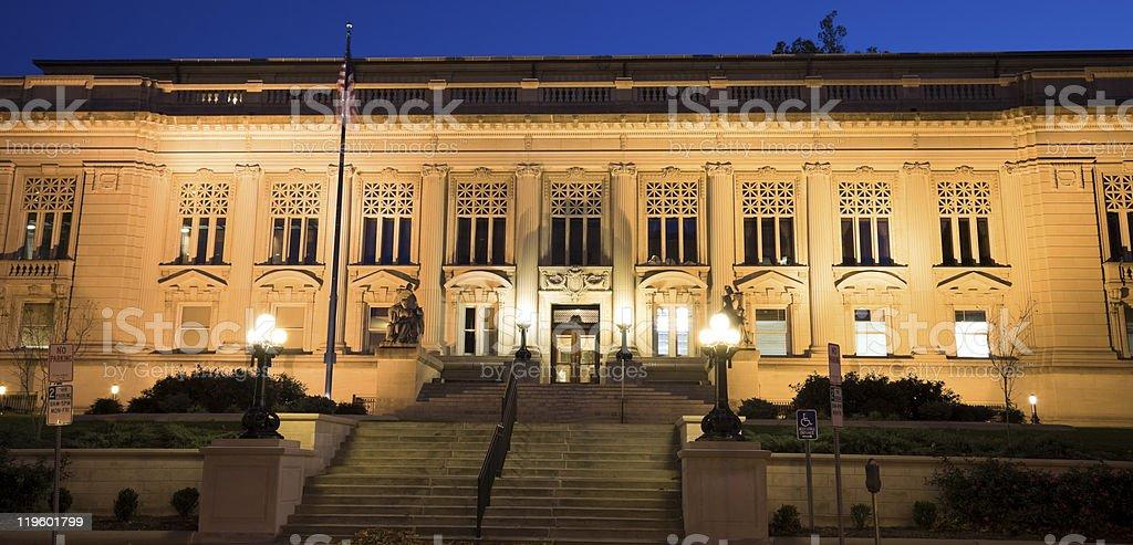 Springfield, Illinois - State Capitol complex building stock photo