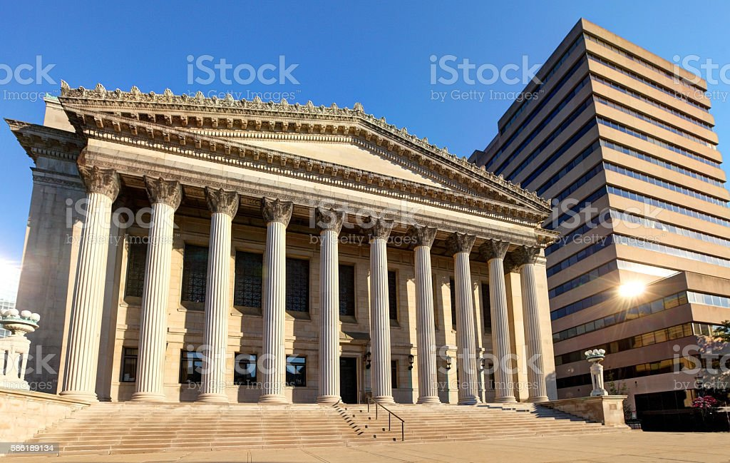 Springfield Massachusetts City Hall stock photo