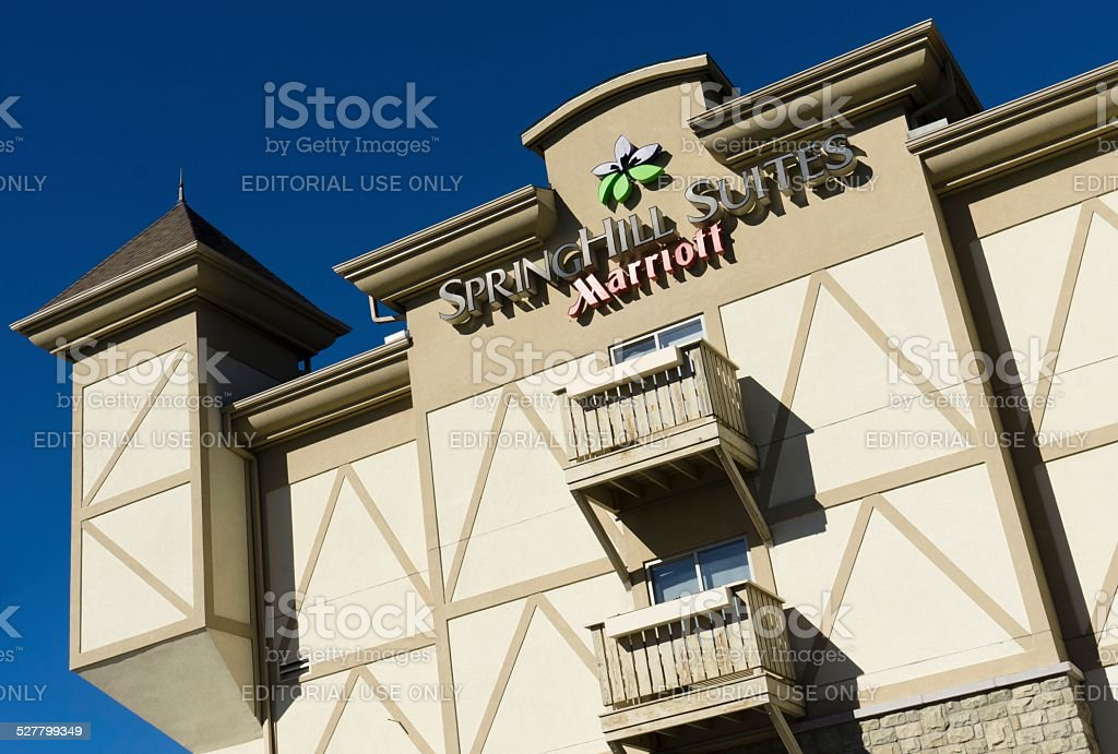 SpringHill Suites by Marriott stock photo