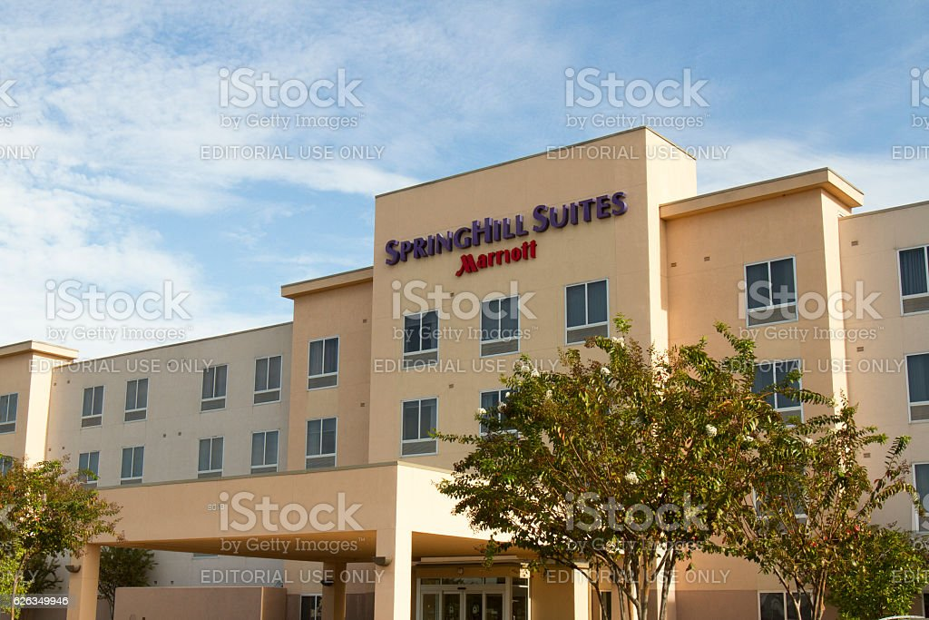 Springhill Suites chain hotel stock photo