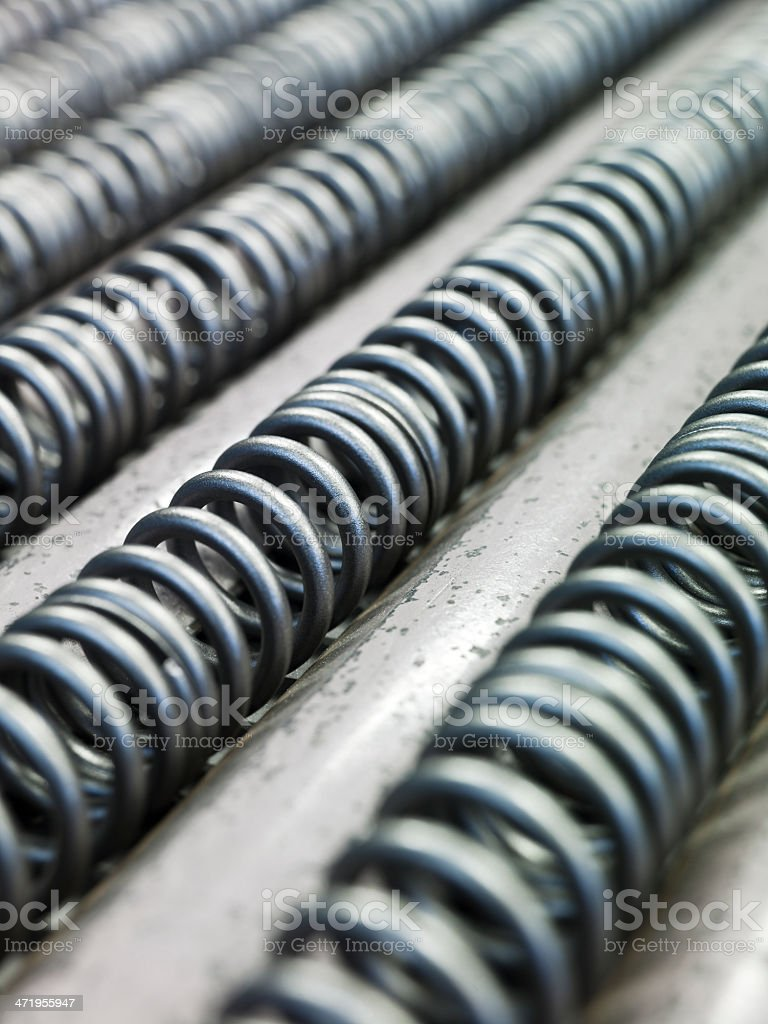 Springs industry stock photo