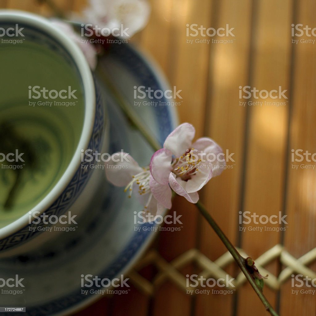 Springtime Tea royalty-free stock photo
