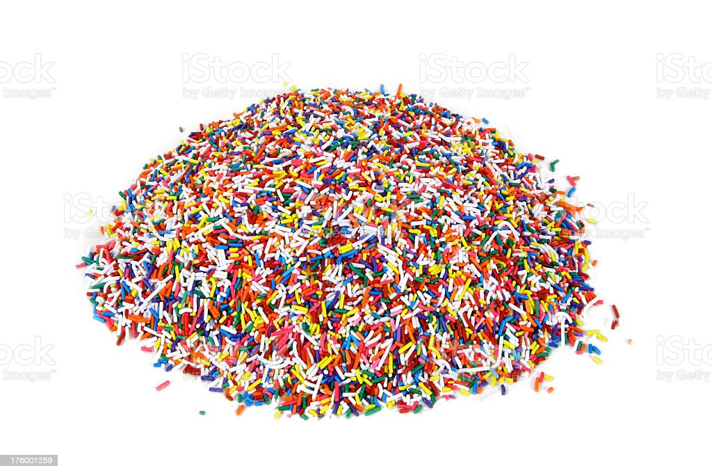 Sprinkles - Mountain royalty-free stock photo
