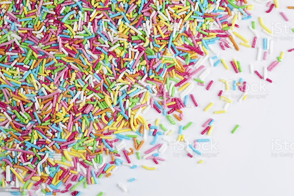 Sprinkles royalty-free stock photo