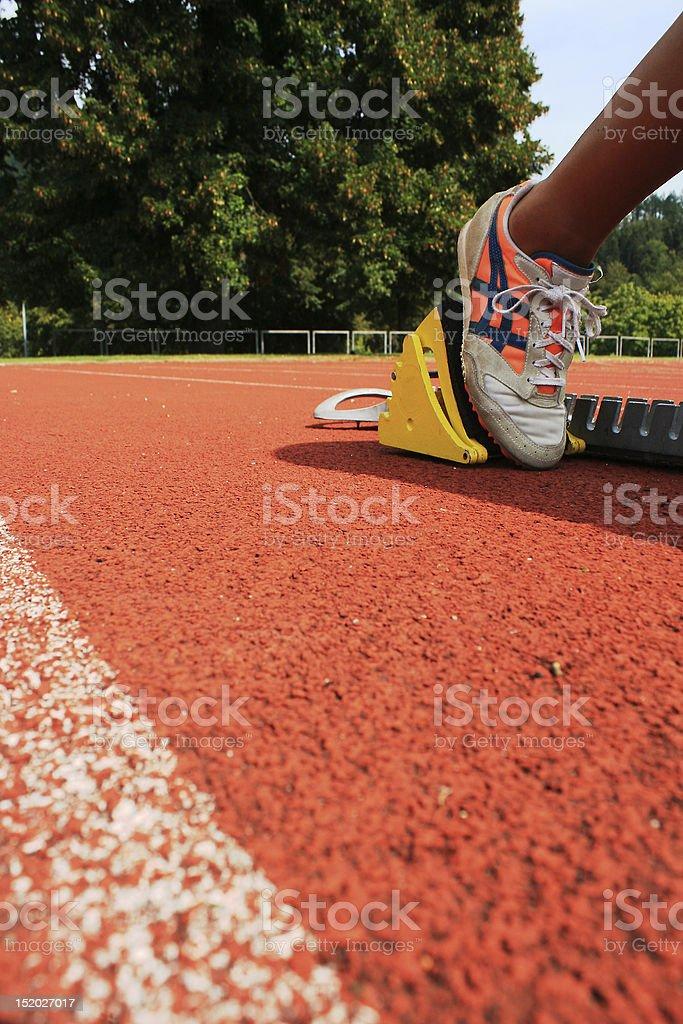 sprint start royalty-free stock photo