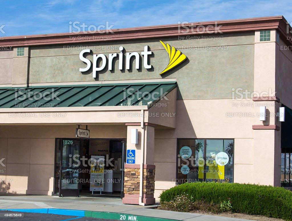 Sprint store exterior stock photo