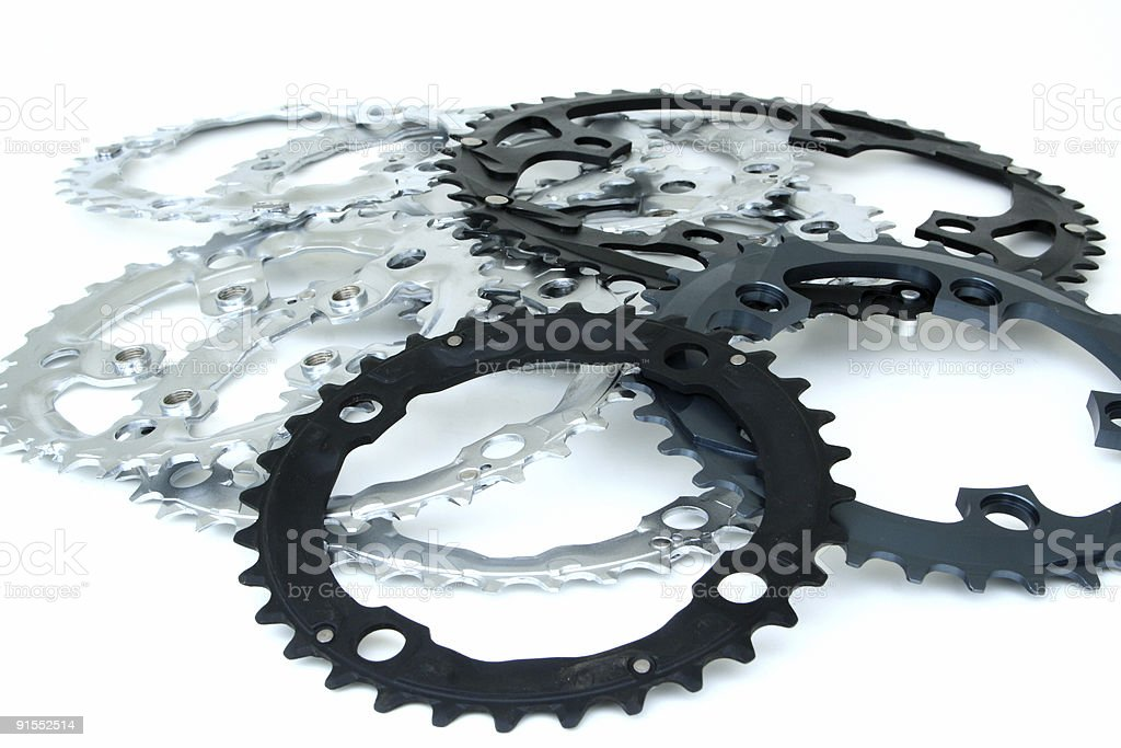 Sprockets royalty-free stock photo