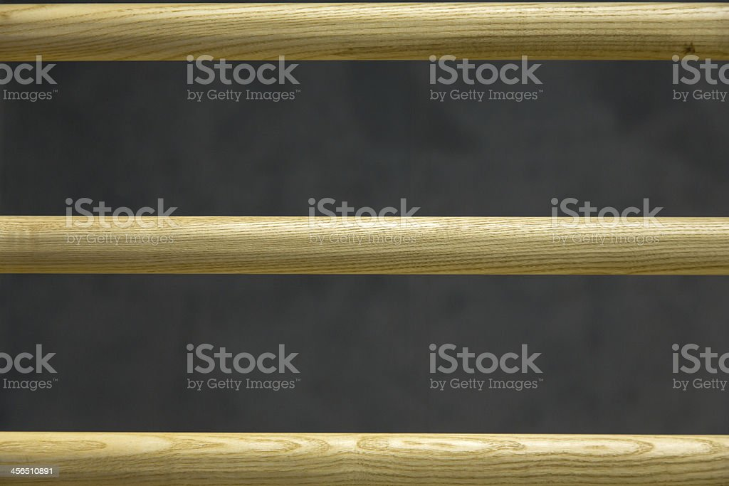 Sprossenwand, Wall-bars stock photo