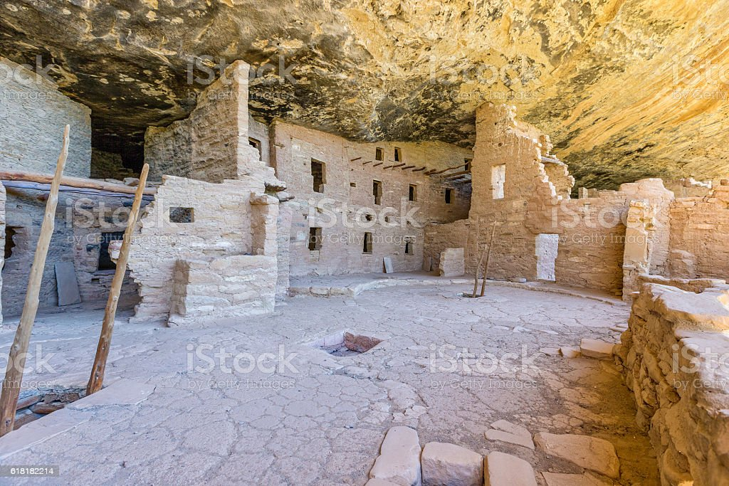 Spruce Tree House Mesa Verde stock photo