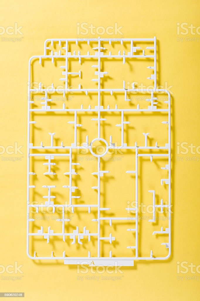 sprue stock photo