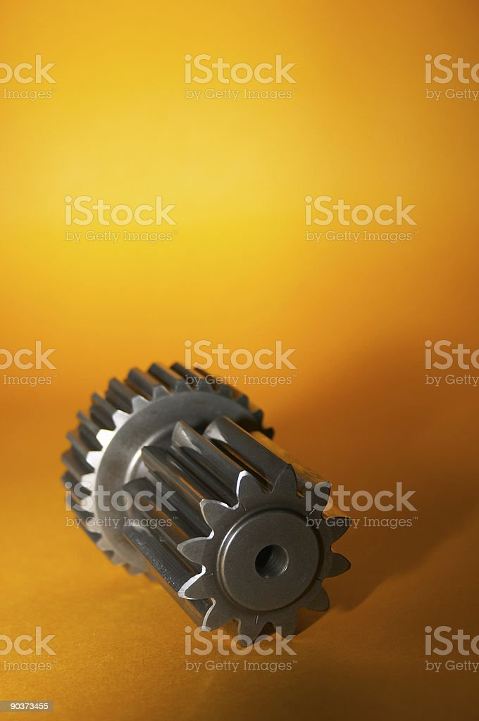 Spur gear royalty-free stock photo
