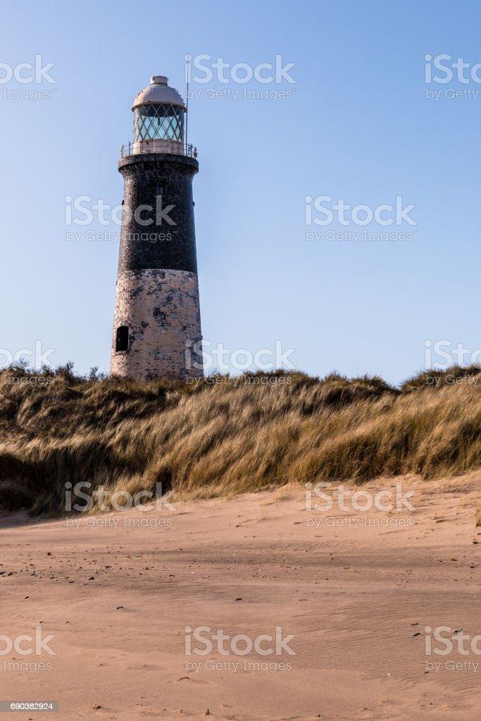 Spurn Head Point Lighthouse stock photo