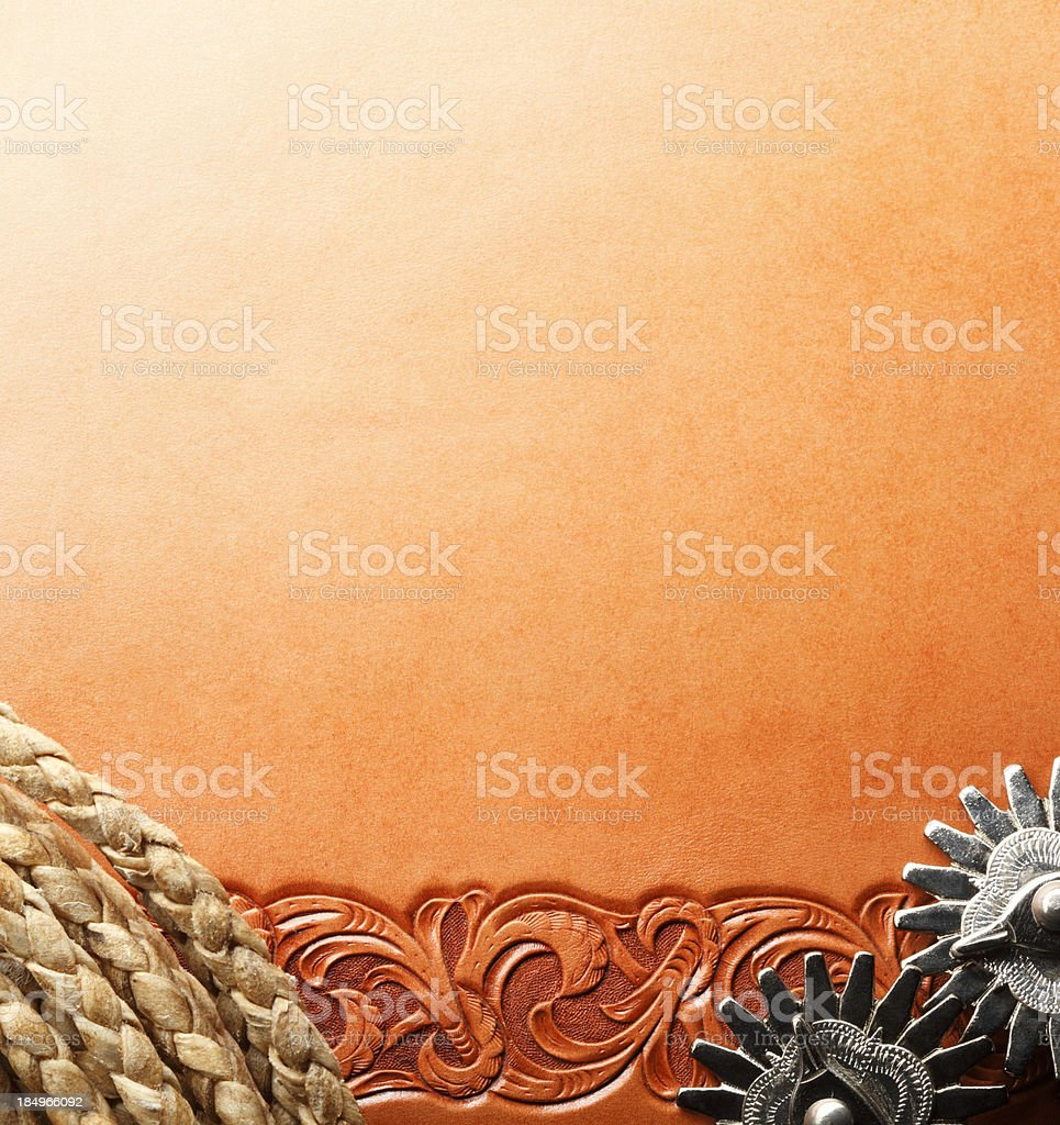 Spurs and Lariat stock photo