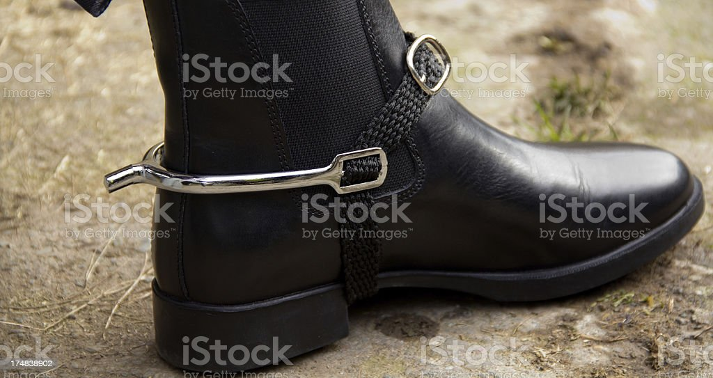 Spurs. stock photo