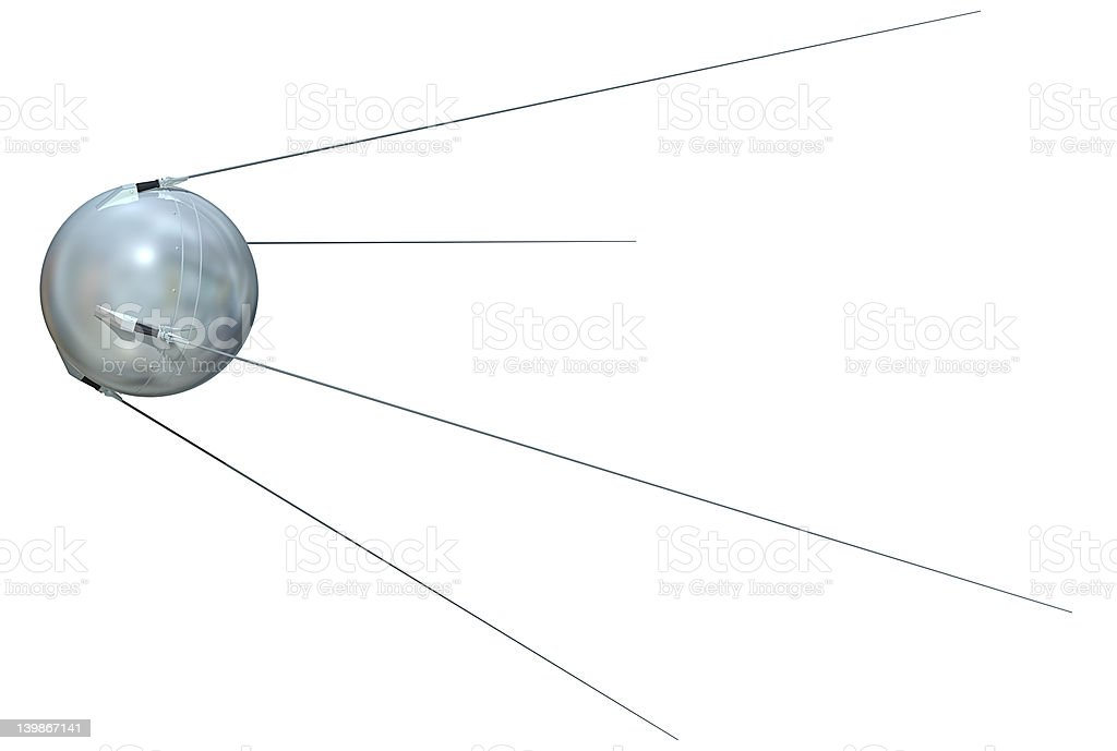 Sputnik 1 stock photo