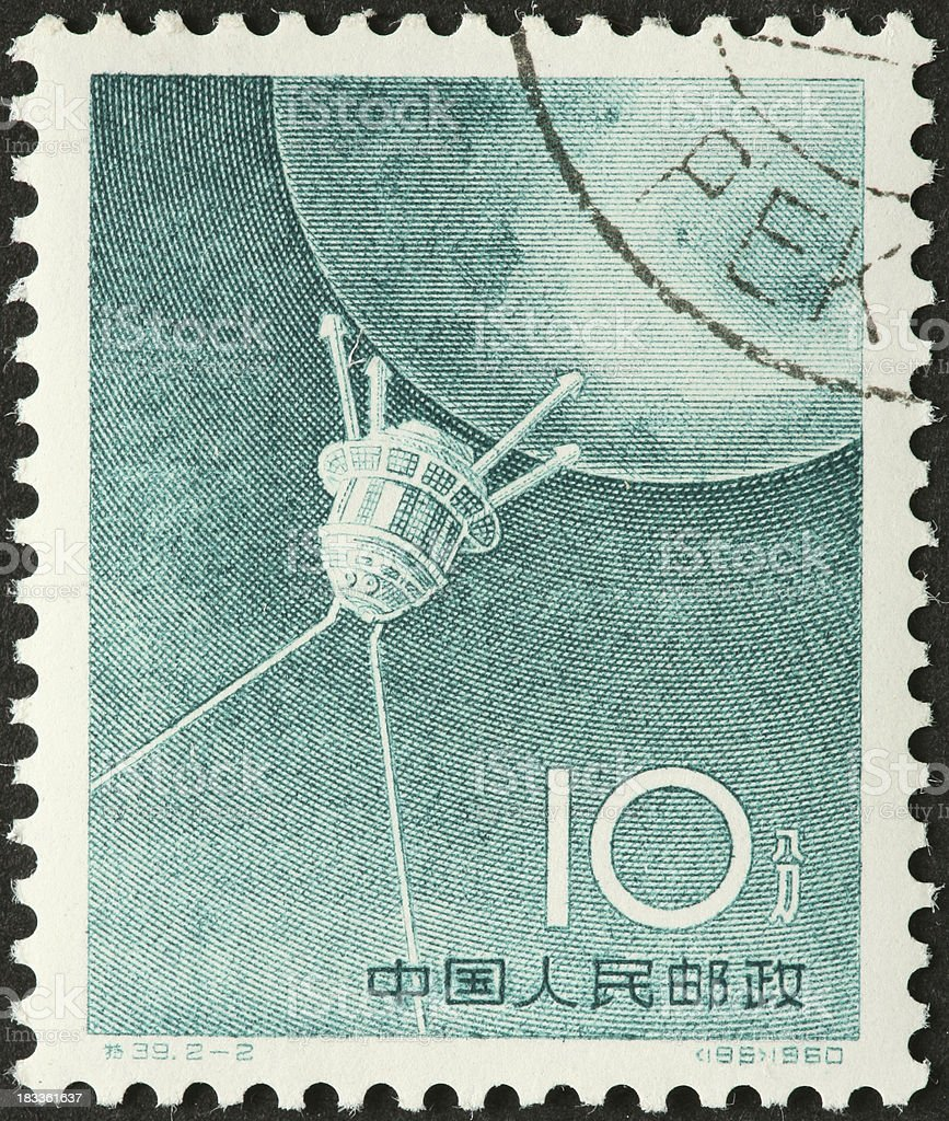 Sputnik Soviet satellite 1957 stock photo