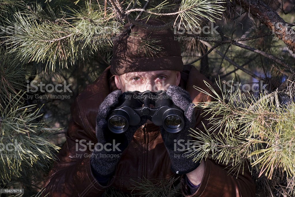 spy royalty-free stock photo