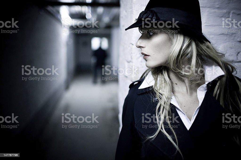 Spy stock photo