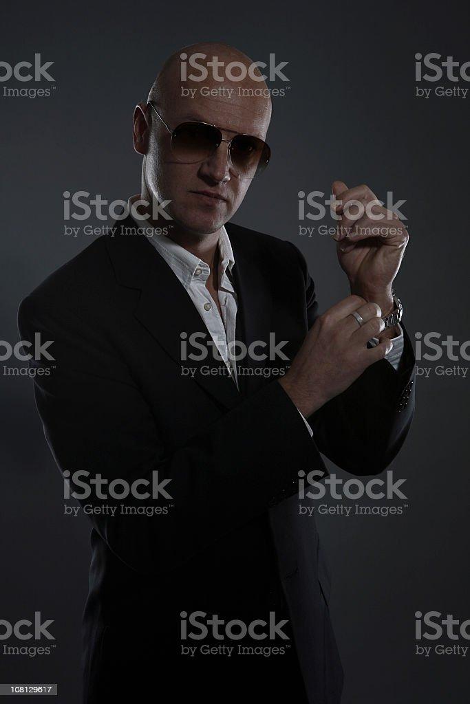 Spy Portrait royalty-free stock photo