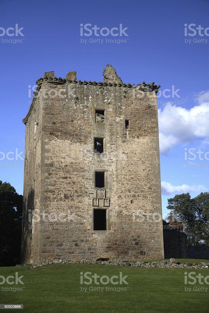 Spynie Palace royalty-free stock photo