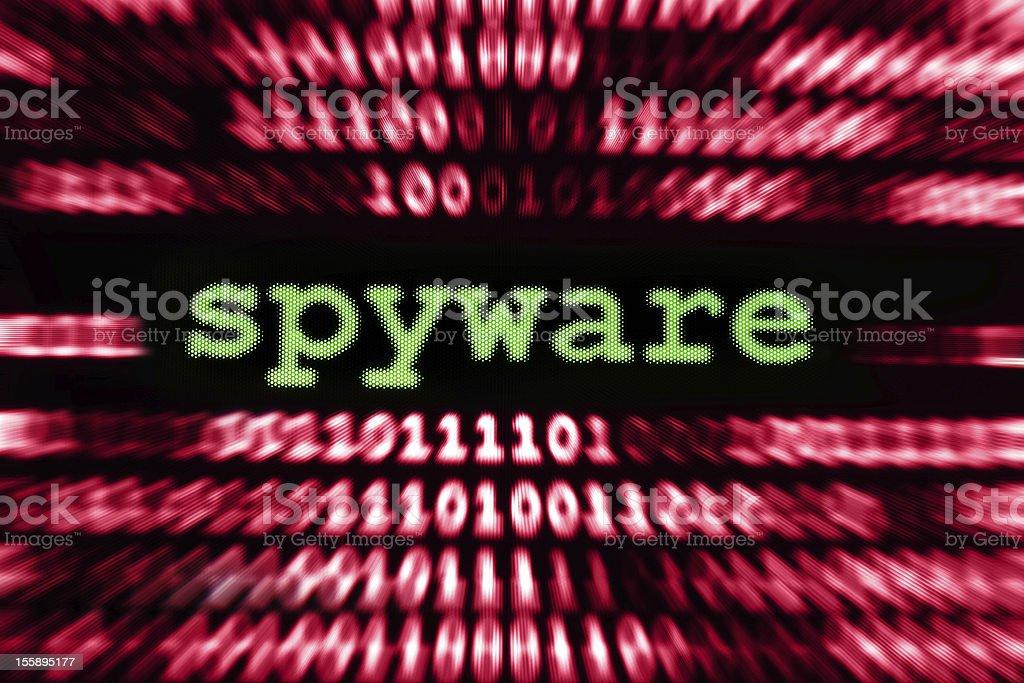 Spyware royalty-free stock photo