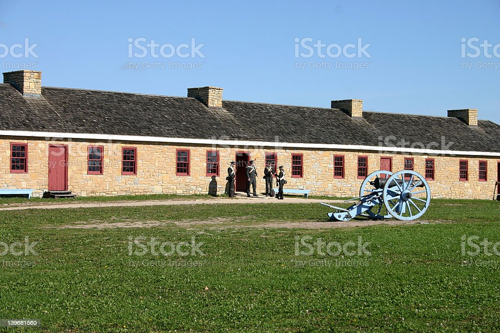 squad of soldiers stock photo