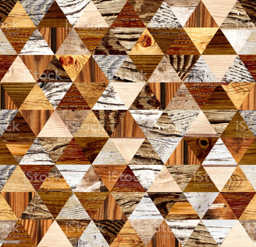 Square background with wooden patterns stock photo