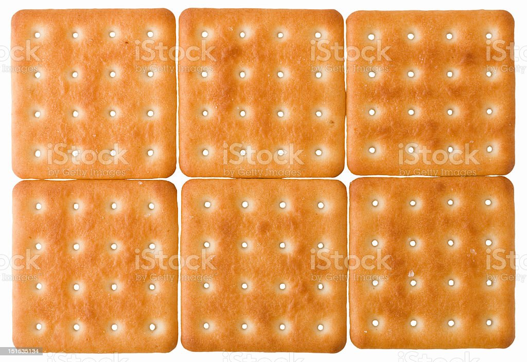 square biscuits royalty-free stock photo